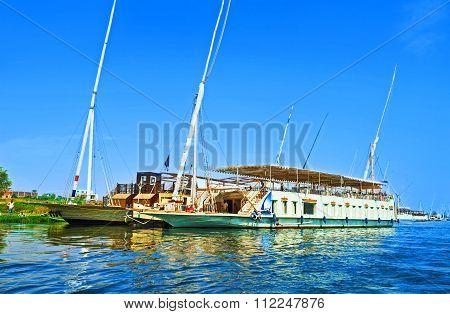 The Pleasure Ships In Luxor
