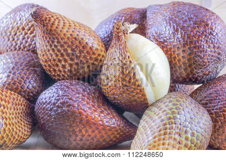 Exotic Salak Fruit