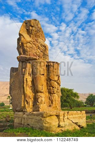 The Famous Egyptian Statue