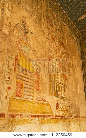 The Fresco Of Anubis