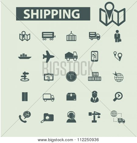 Shipping icons, delivery icons, shipping, delivery, delivery services, delivery concept, logistics  icons