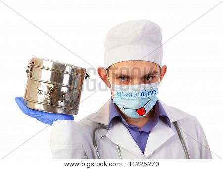 Doctor and quarantine