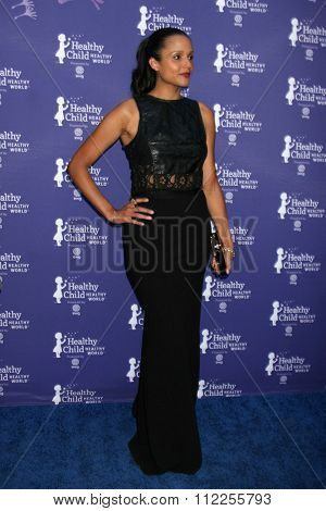 LOS ANGELES - OCT 1:  Sydney Tamiia Poitier at the Healthy Child Healthy World Gala at the Montage Hotel on October 1, 2015 in Beverly Hills, CA