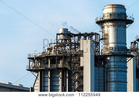 Industrial power plant