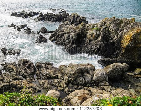 Gulf and rocks