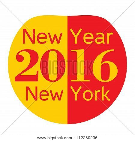 New year new York, Big apple 2016