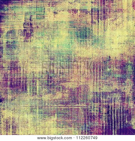 Vintage old texture for creative retro background. With different color patterns: yellow (beige); green; purple (violet); pink