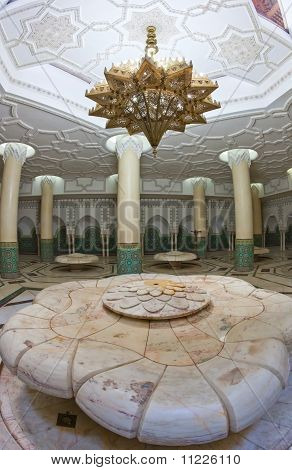 Ablution Hall Of The Mosque