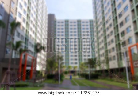 Dormitory Building Perspective