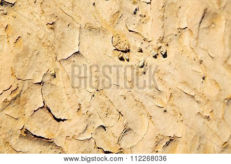 Brown  Sand In Sahara Desert Morocco  Erosion And