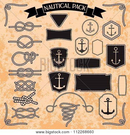 Marine Knots Set