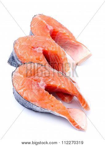 Salmon fish.