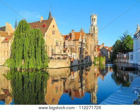 Medieval Brugge, Belgium