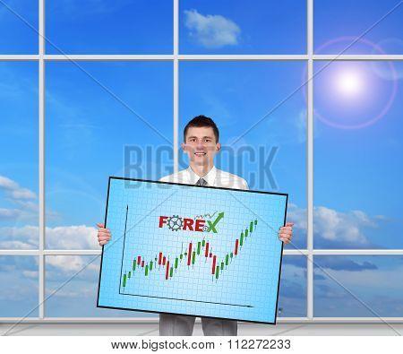 Plasma Panel With Success Chart
