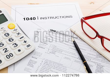 Income Tax Income Return Form And Instructions