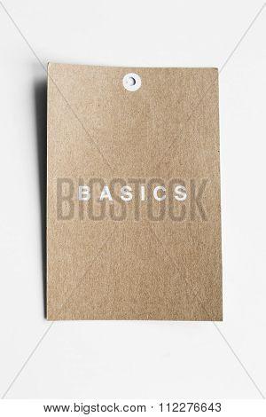 Craft Paper Label