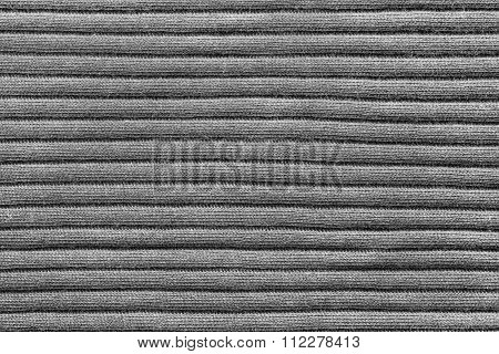 Gray Knitted Texture