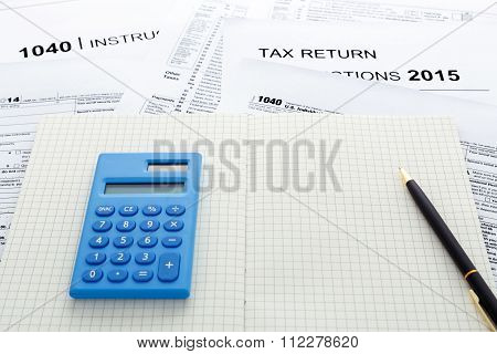 Tax Return 2015 With Calculator