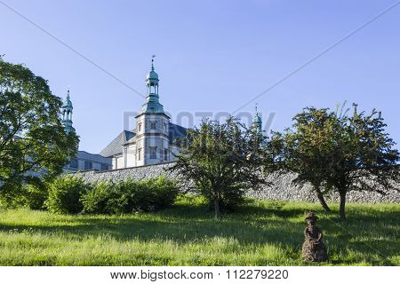 Baroque Bishops of Krakow Palace in Kielce, Poland