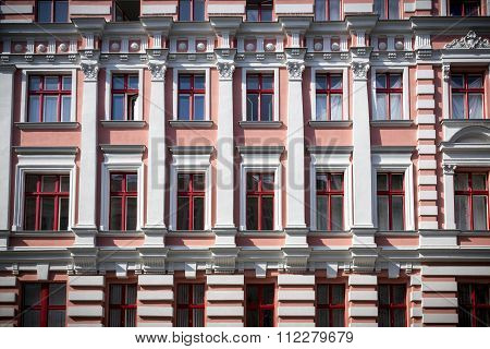Old Facade Of A House In Berlin Kreuzberg