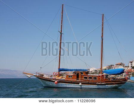 Turkish Gulet or Boat