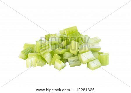 Fresh Celery Dice Cut Salad Ingredient
