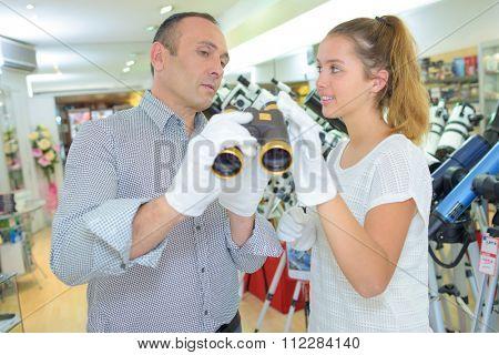 fragile binoculars