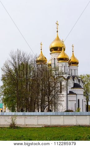 Saint Nicholas monastery in town Pereslavl-Zalessky, Russia.