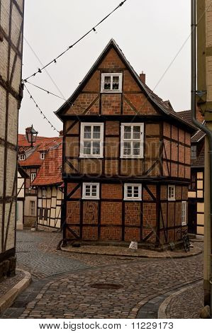 Quedlinburg old town homes