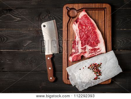 Raw Fresh Meat Club Steak