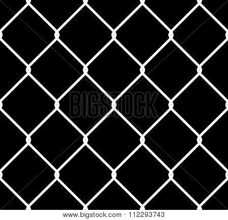 Seamless Tileable High Resolution Chain Link Fence Alpha/selection Mask