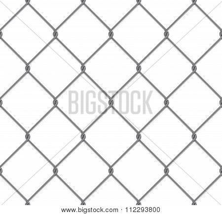 Seamless Tileable High Resolution Steel Chain Link Fence Texture