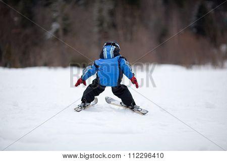 Little Ski Girl
