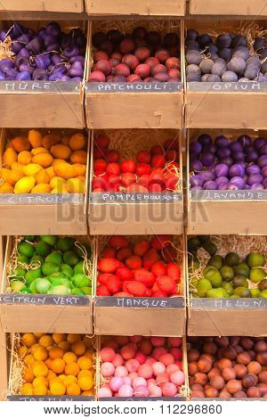 Exotic Scented Wooden Balls For Sale In France