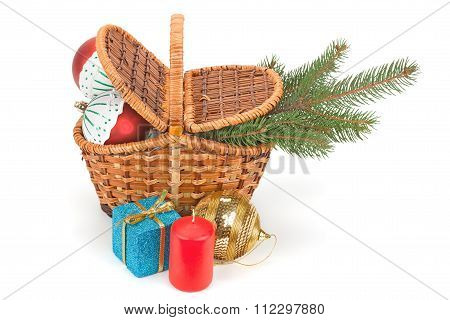 Christmas Tree, Gifts And Toys