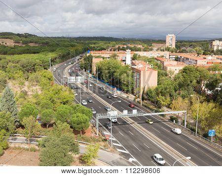 Speedway M 30 In Madrid