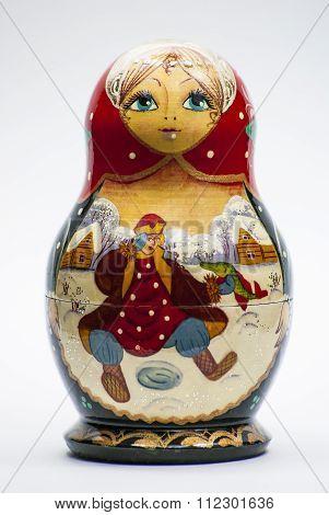 Matryoshka nesting doll babooshka