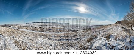 View From Mount Strizhament. Stavropol Region, North Caucasus. Russia