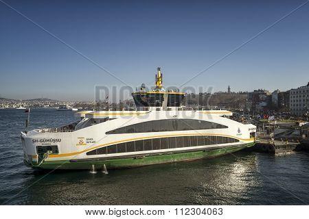 Sh. Gumussu Ferry, Istanbul, Turkey