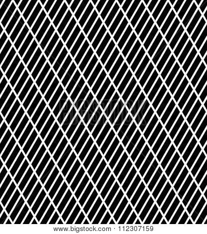 Seamless slanting lines texture. Vector art.