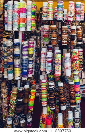 Different Colorful Bracelets