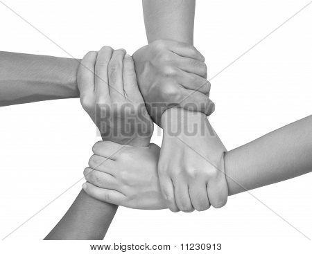 Multicultural hands