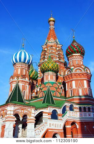 Cathedral Of The Protecting Veil Of The Mother Of God In Moscow, Russia