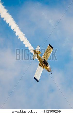 Acrobatic Stunt Plane