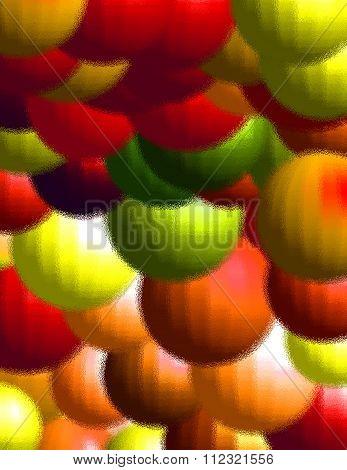 balls pattern