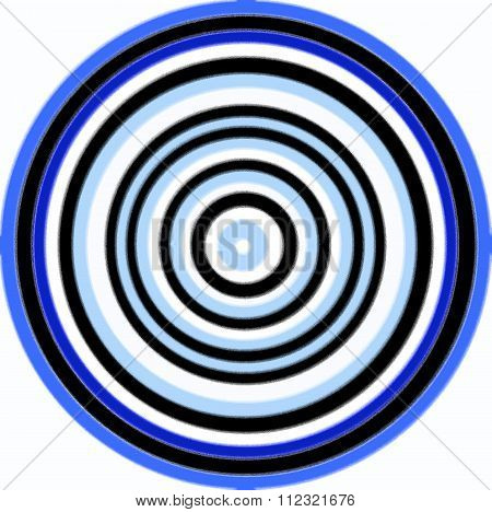 bull eye pattern