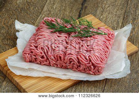 Raw Minced Beaf