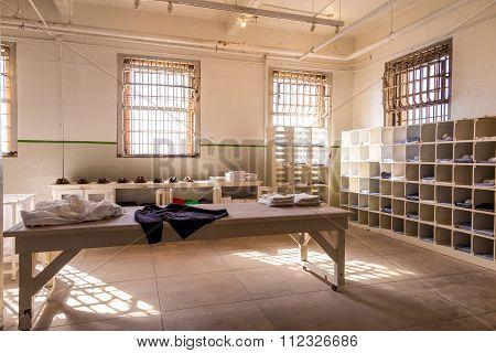 Inside Of Alcatraz