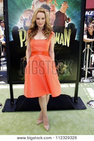 LOS ANGELES, CALIFORNIA - August 5, 2012. Leslie Mann at the Los Angeles premiere of