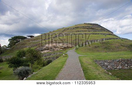 Ancient Inca Ruins Of Pumapungo In Cuenca